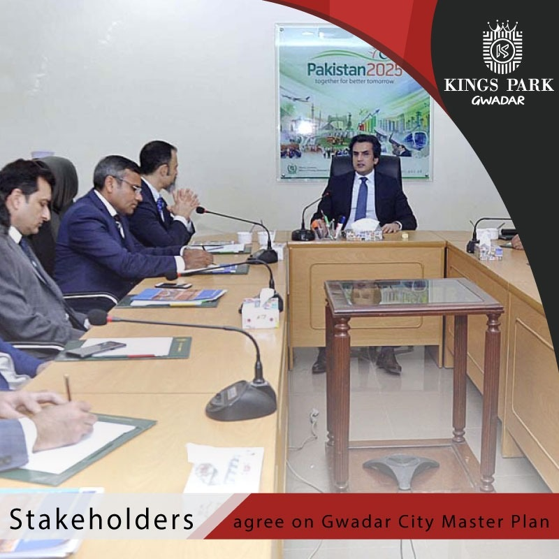 Stakeholders agree on Gwadar City master plan