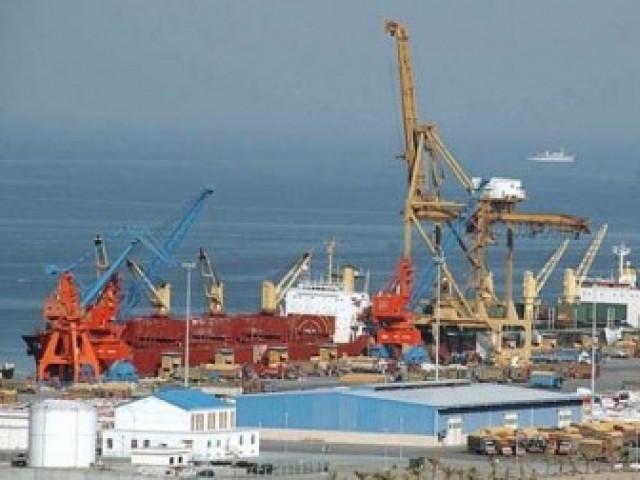 Karachi-Gwadar-Gulf container line launched