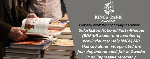Four-day book fair under way in Gwadar