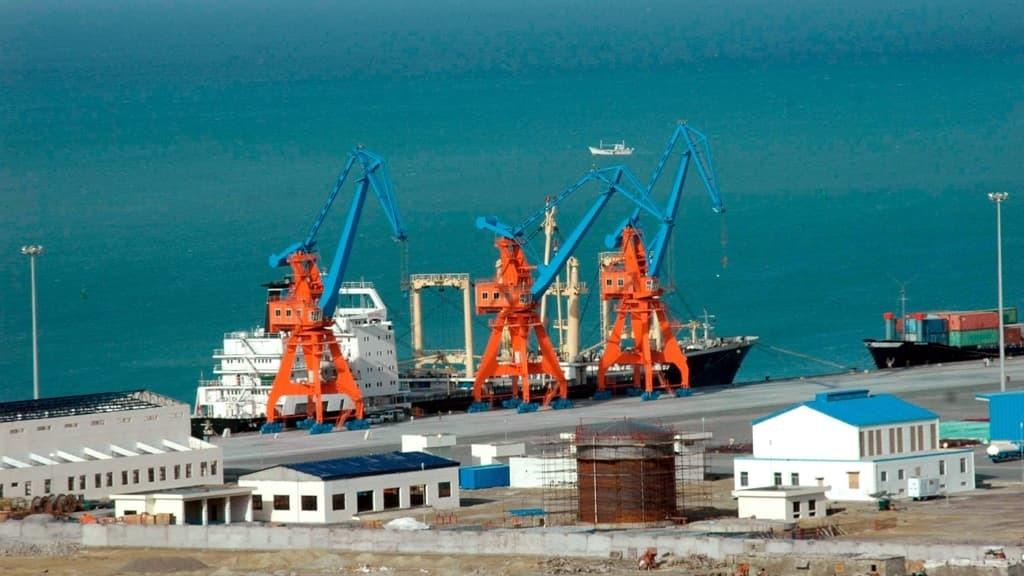International transit activity initiates at Gwadar Port