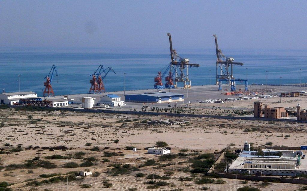 Fibre optic cable laid in Gwadar