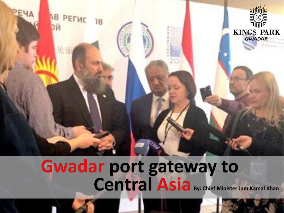 CM pitches Gwadar as gateway to Central Asia