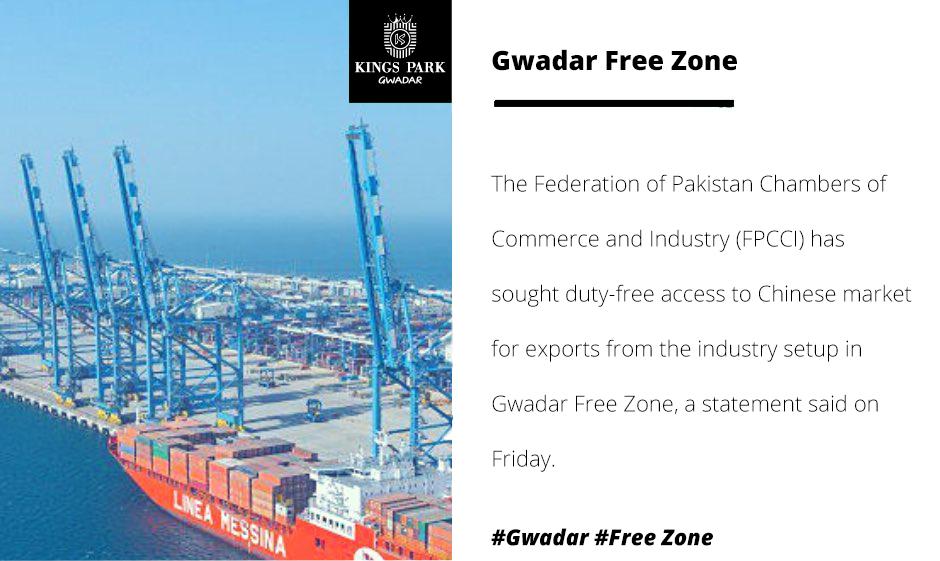 Exemption of import duty sought in Gwadar Free Zone
