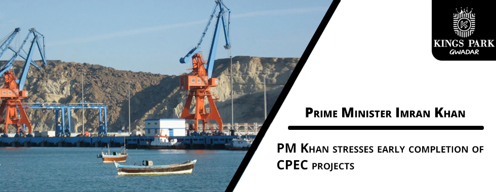 PM Khan stresses early completion of CPEC projects