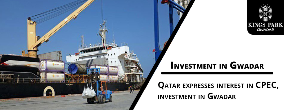 Qatar expresses interest in CPEC, investment in Gwadar