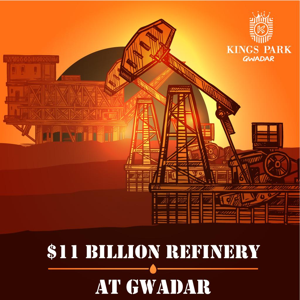 $11 billion refinery at Gwadar
